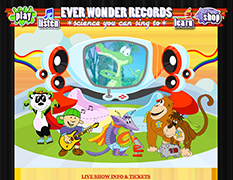 Everwonder Records Website